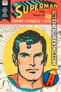 Superman – Braniac's Biggest Plot Giant Comics to Color from Whitman.