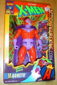 Articulated X-Men Deluxe 10-inch Magneto action figure from Toybiz.
