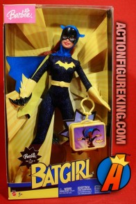 A packaged sample of this Barbie Famous Friends Batgirl fasgion doll.