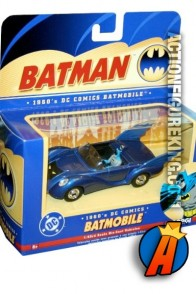 Corgi 1960s die cast Batmobile 2 (BMBV2) released in 2005.