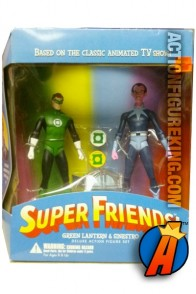 Super Friends two-pack of Green Lantern and Sinestro from DC Direct.