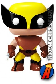Funko Pop! Marvel Brown Variant WOLVERINE Bobblehead Figure.