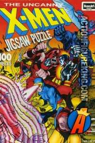 RoseArt 100-piece X-Men Jigsaw Puzzle circa 1992.
