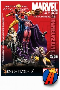 Marvel Universe 35mm BROTHERHOOD of EVIL MIUTANTS metal figures from Knight Models.