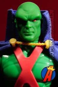 Hasbro 9-inch DC Super-Heroes Martian Manhunter action figure.