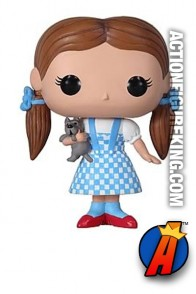 Funko Pop! Movies Wizard of Oz Dorothy and Toto vinyl bobblhead figure.