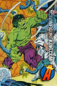 Whitman The Incredible Hulk Mad Scientist 100-Piece Jigsaw Puzzle.