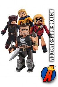 Marvel Minimates Dark Avengers 2 Box Set.