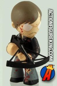 Walking Dead Mystery Minis Series 2 Bloody Daryl Dixon bobblehead figure.