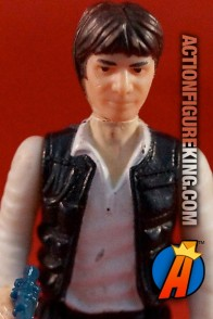 Vintage Kenner Star Wars Han Solo with big head action figure circa 1978.