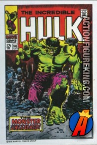 13 of 24 from the 1978 Drake's Cakes Hulk comics cover series.