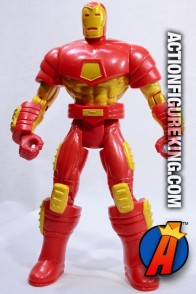 This 10-inch deluxe Iron Man figure was from the animated series.