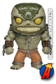 Funko Pop! Heroes Arkham Asylum Killer Croc vinyl bobblhead figure.