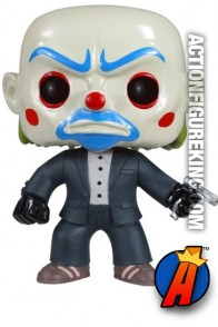 Funko 6-inch high Pop Heroes Dark Knight Bank Robber figure.