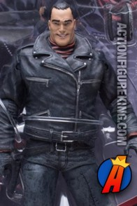 Detailed view of this Walking Dead Comic Series Negan from McFarlane Toys.