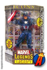 12 Inch Marvel Legends Captain America from their short-lived Icons series.