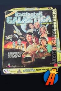 Battlestar Galactica Colorforms Playset circa 1978.