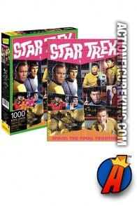 STAR TREK 1000-piece jigsaw puzzle from Aquarius.
