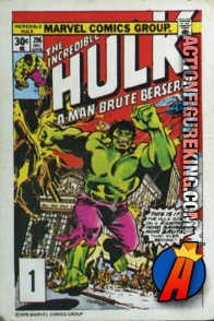 1 of 24 from the 1978 Drake's Cakes Hulk comics cover series.