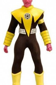 8 inch Mattel retro-action Sinestro variant (yellow version)