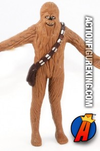 STAR WARS Bend-Ems CHEWBACCA Figure from JusToys