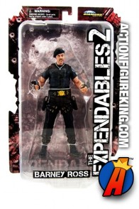 The EXPENDABLES  Beret variant BARNEY ROSS action figure from DST.