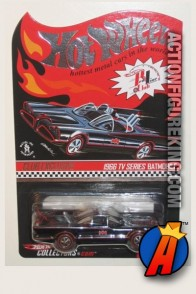 Hot Wheels Limited Edition Redline Club Exclusive Batmobile circa 2008.