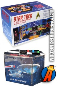 STAR TREK 8-inch scale Mego Enterprise playset from Diamond Select.
