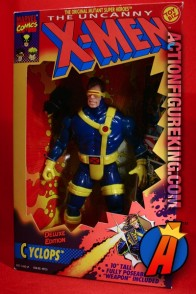 X-Men Deluxe 10-inch Cyclops action figure from Toybiz.