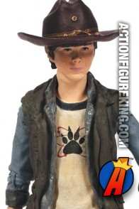 The Walking Dead TV Series 4 Carl Grimes action figure from McFarlane Toys.