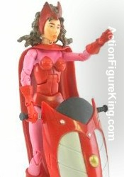 Marvel Legends Series 11 Legendary Riders Scarlet Witch Action Figure from Toybiz.