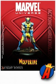 Marvel Universe 35mm WOLVERINE Metal figure from Knight Models.