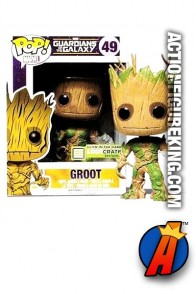 Funko Pop! Marvel Variant Glow-In-The-Dark GROOT Figure.