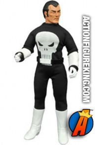 Retro style 8-inch Mego Punisher action figure based on his first appearance.
