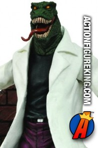 Artculated Marvel Select 7-inch scale Lizard action figure from Diamond Select Toys.