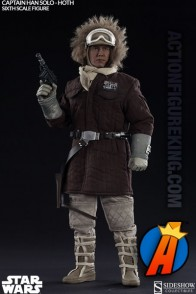 Star Wars Captain Han Solo action figure from Hot Toys and Sideshow.