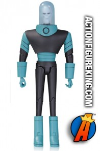 Full view of this Mr. Freeze animated figure from DC Collectibles.