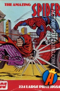 The Amazing Spider-Man vs Hammerhead and The Jackal Puzzle is a UK import from Whitman.