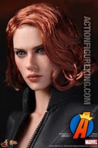 Sideshow and Hot Toys present this Movie Masterpiece 1:6 scale highly detailed Black Widow action figure.