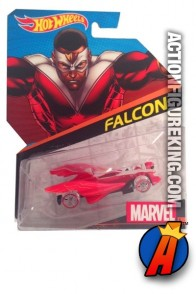 The Falcon die-cast car from Hot Wheels.
