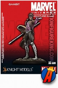 Marvel Universe X-Men 35mm GAMBIT metal figure from Knight Models.