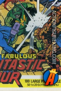 Whitman UK import The Fabulous Fantastic Four 180 Large Piece Puzzle.