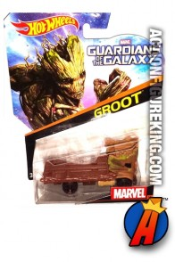 Guardians of the Galaxy Groot die-cast car from Hot Wheels.
