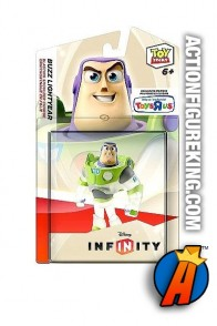 Toys R Us exclsuive Disney Infinity translucent Buzz Lightyear figure.