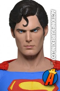 Neca quarter-scale Christopher Reeve Superman action figure.