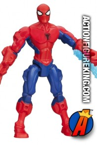 Fully articulated 6-Inch Marvel Super Hero Mashers Spider-Man action figure from Hasbro.
