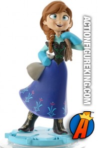 Disney Infinity Anna gamepiece from the world of Frozen.