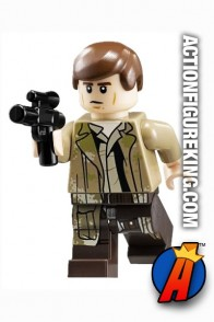 LEGO STAR WARS Imperial Shuttle HAN SOLO Minifigure with Blaster.