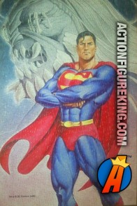 Cool art from this Fusion Toys 500-piece Superman vs. Doomsday jigsaw puzzle.