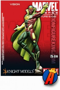 Marvel Universe 35mm VISION metal figure from Knight Models.